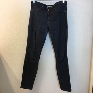 Rich & Skinny size 27 jeans (hemmed)